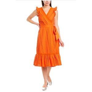 J.Crew Eyelet Wrap Dress